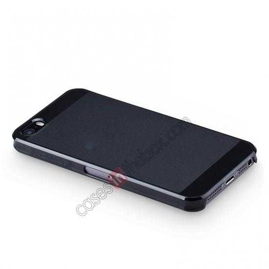 top quality Momax Ultra Thin Series Clear Breeze Case Cover for iPhone 5S - Black