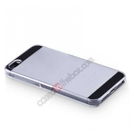top quality Momax Ultra Thin Series Clear Breeze Case Cover for iPhone 5S - White