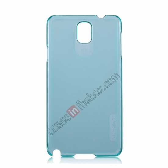 wholesale Momax Ultra Thin Series Clear Breeze Case Cover for Samsung Galaxy Note 3 - Light Blue