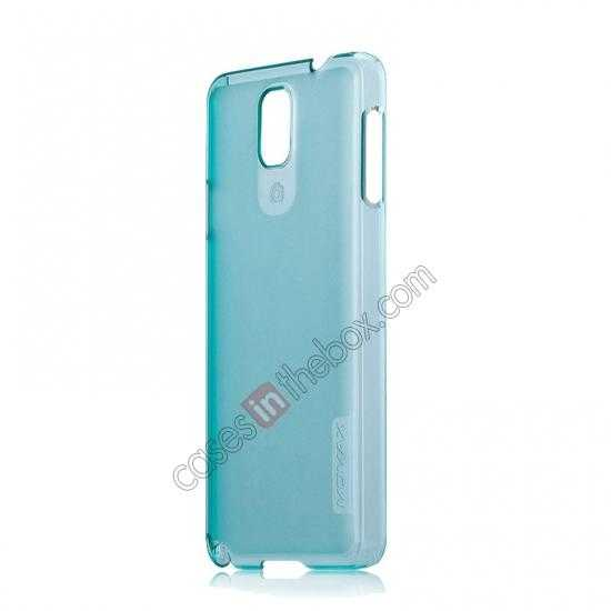 discount Momax Ultra Thin Series Clear Breeze Case Cover for Samsung Galaxy Note 3 - Light Blue