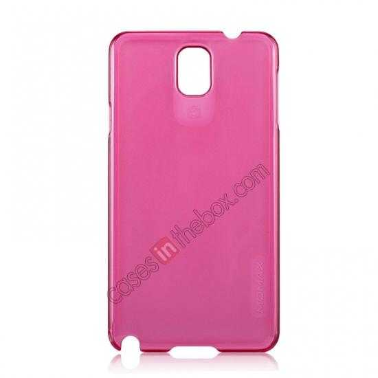wholesale Momax Ultra Thin Series Clear Breeze Case Cover for Samsung Galaxy Note 3 - Red