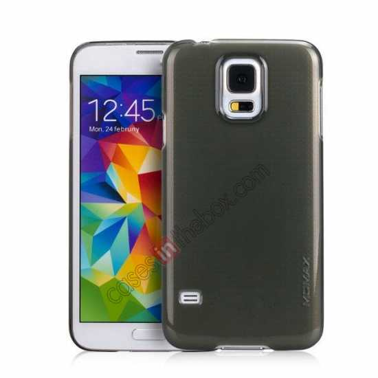 wholesale Momax Ultra Thin Series Clear Breeze Case Cover for Samsung Galaxy S5 - Black