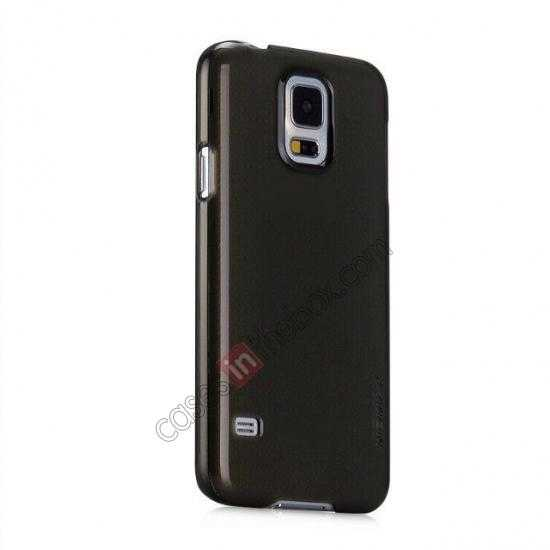discount Momax Ultra Thin Series Clear Breeze Case Cover for Samsung Galaxy S5 - Black
