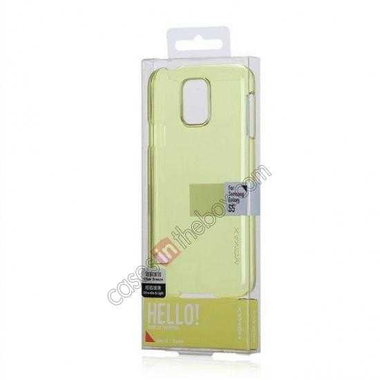 best price Momax Ultra Thin Series Clear Breeze Case Cover for Samsung Galaxy S5 - Green