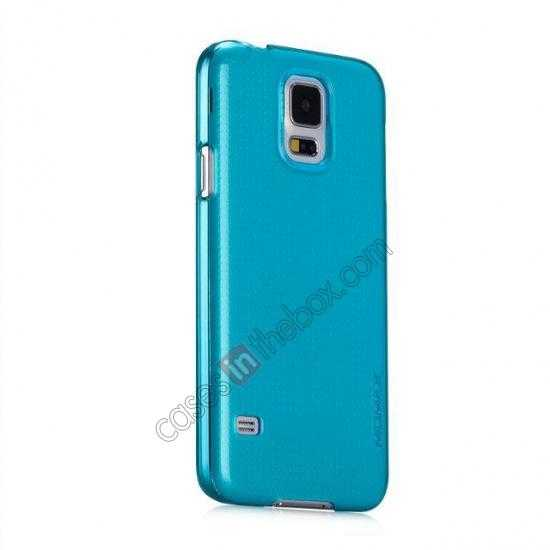 discount Momax Ultra Thin Series Clear Breeze Case Cover for Samsung Galaxy S5 - Light Blue
