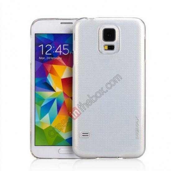 wholesale Momax Ultra Thin Series Clear Breeze Case Cover for Samsung Galaxy S5 - Transparent