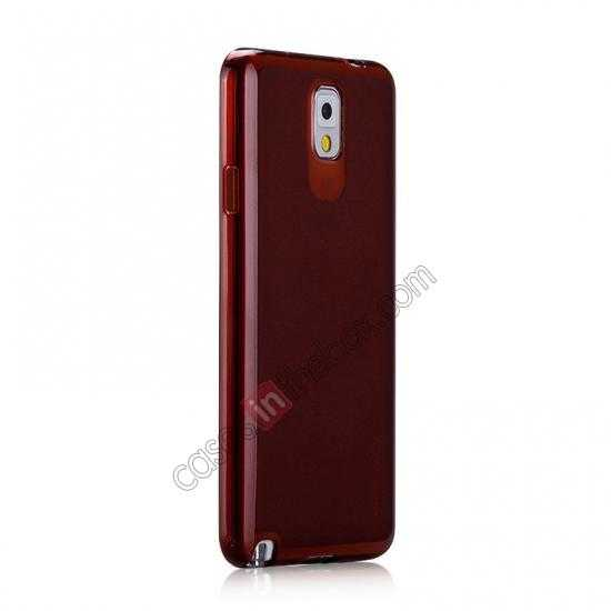 discount Momax Ultra Thin Series Clear Twist Silicon Case for Samsung Galaxy Note 3 - Brown