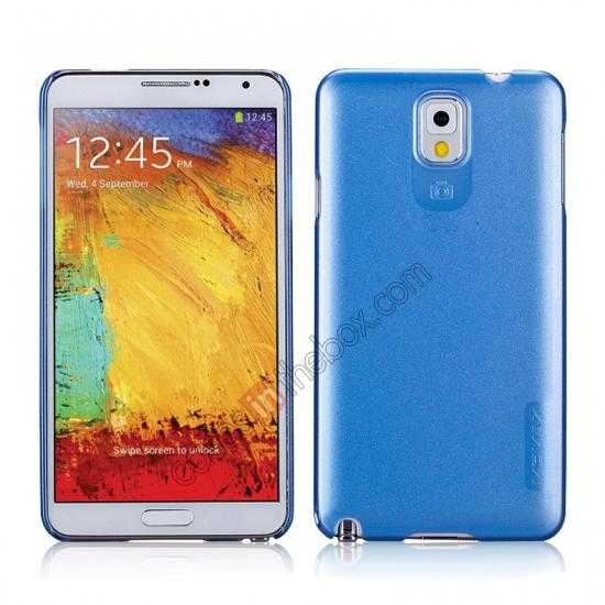 wholesale Momax Ultra Thin Series Pearl Hard Case Cover for Samsung Galaxy Note 3 - Blue