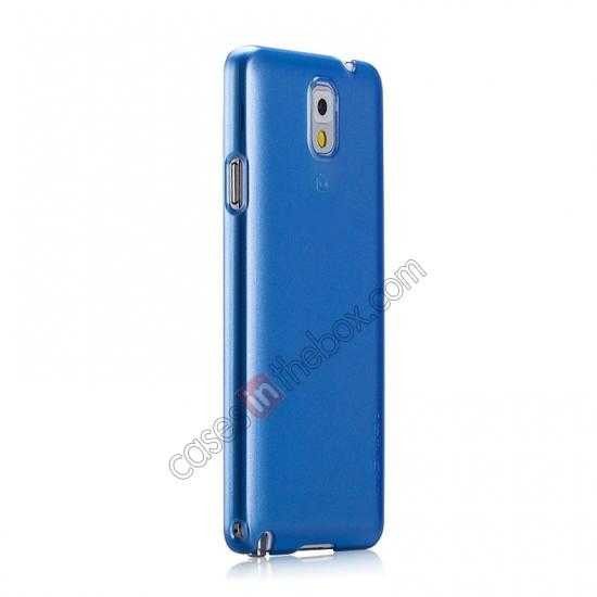 discount Momax Ultra Thin Series Pearl Hard Case Cover for Samsung Galaxy Note 3 - Blue