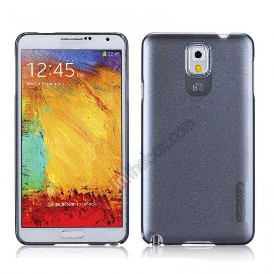 wholesale Momax Ultra Thin Series Pearl Hard Case Cover for Samsung Galaxy Note 3 - Grey