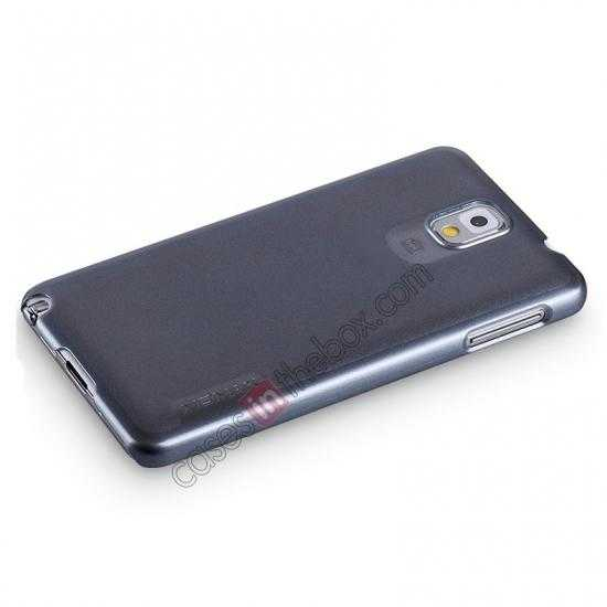 top quality Momax Ultra Thin Series Pearl Hard Case Cover for Samsung Galaxy Note 3 - Grey