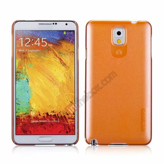 wholesale Momax Ultra Thin Series Pearl Hard Case Cover for Samsung Galaxy Note 3 - Orange