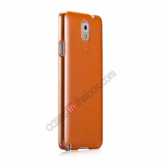 cheap Momax Ultra Thin Series Pearl Hard Case Cover for Samsung Galaxy Note 3 - Orange