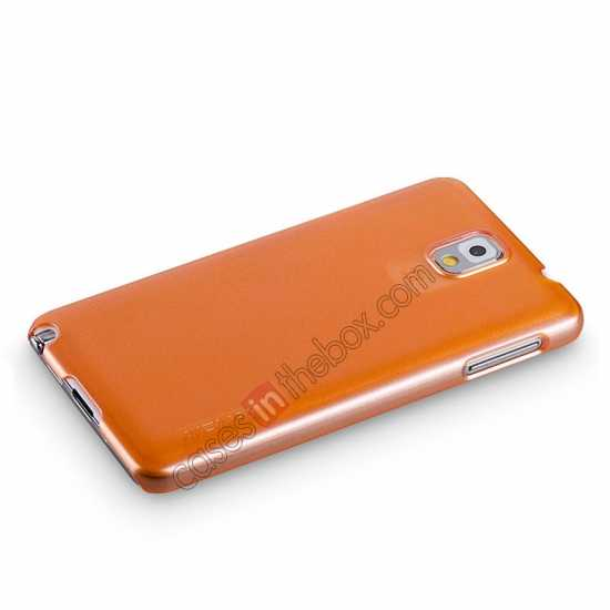 top quality Momax Ultra Thin Series Pearl Hard Case Cover for Samsung Galaxy Note 3 - Orange