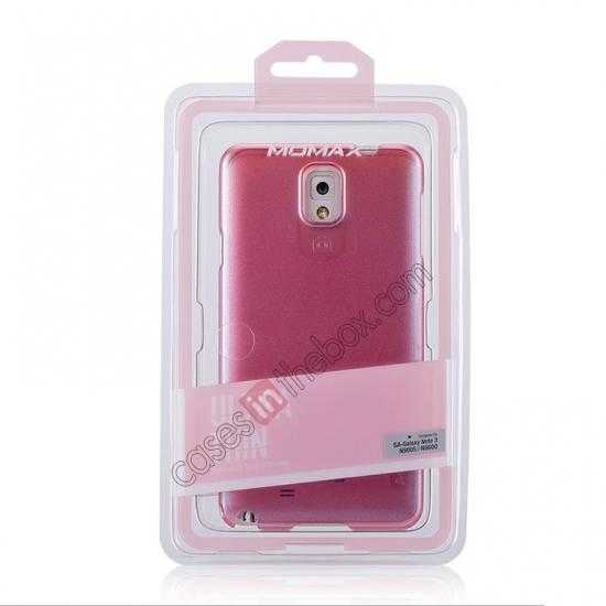 best price Momax Ultra Thin Series Pearl Hard Case Cover for Samsung Galaxy Note 3 - Pink