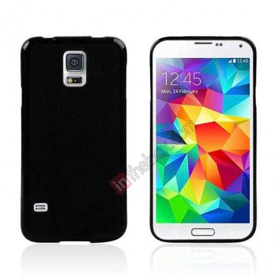 wholesale New Ultra Thin Soft TPU Back Case Cover For Sumsung Galaxy S5 - Black