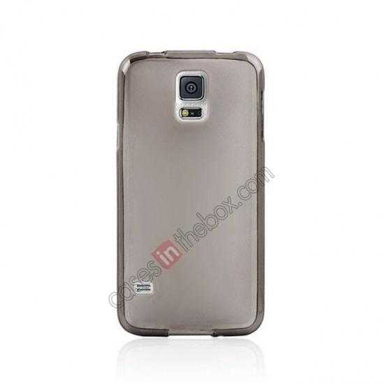 discount New Ultra Thin Soft TPU Back Case Cover For Sumsung Galaxy S5 - Grey