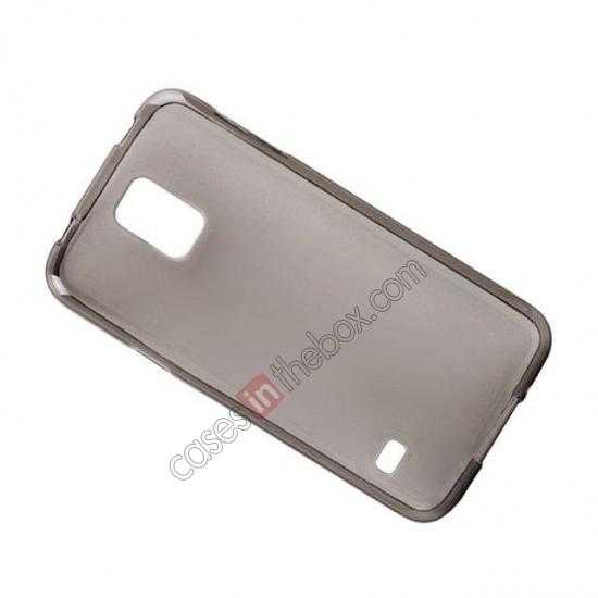 top quality New Ultra Thin Soft TPU Back Case Cover For Sumsung Galaxy S5 - Grey