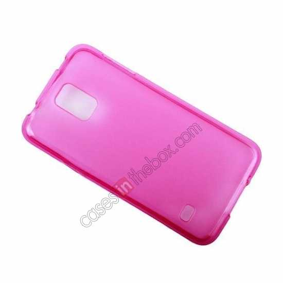 top quality New Ultra Thin Soft TPU Back Case Cover For Sumsung Galaxy S5 - Rose