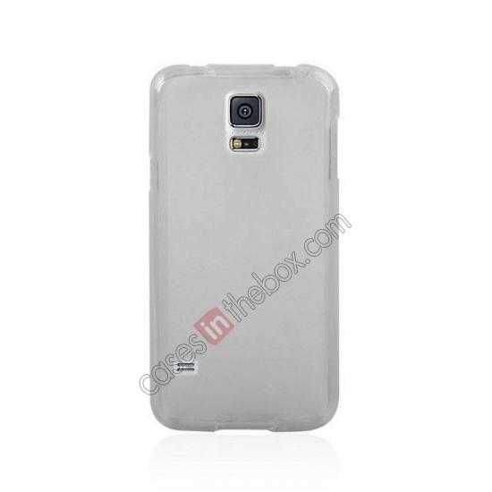 discount New Ultra Thin Soft TPU Back Case Cover For Sumsung Galaxy S5 - Transparent