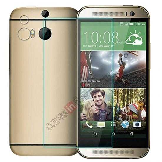 wholesale NILLKIN Amazing H+ Nanometer Anti-Explosion Tempered Glass Screen Protector for HTC New One M8