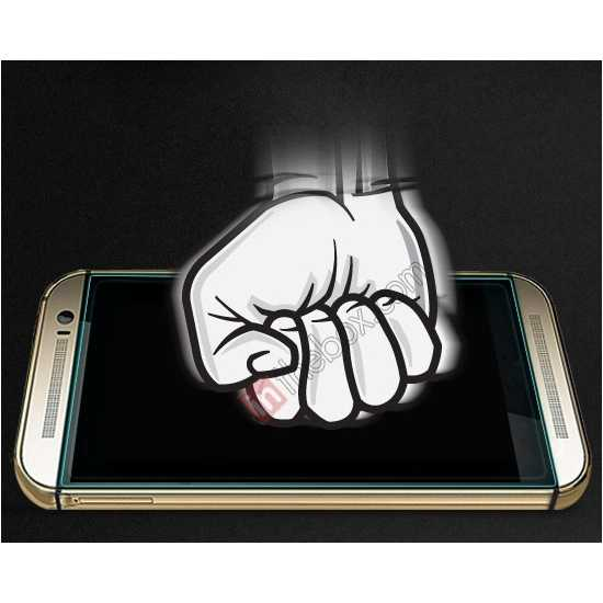top quality NILLKIN Amazing H+ Nanometer Anti-Explosion Tempered Glass Screen Protector for HTC New One M8