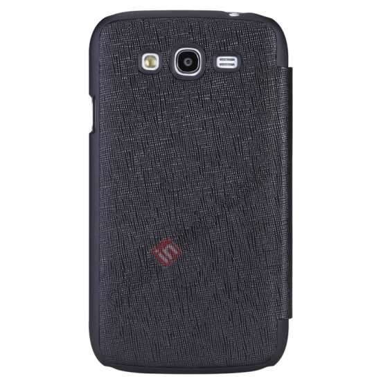 wholesale Nillkin Crossed Style Leather Case Cover for Samsung Galaxy Grand Neo I9060 - Black