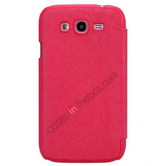 wholesale Nillkin Crossed Style Leather Case Cover for Samsung Galaxy Grand Neo I9060 - Red