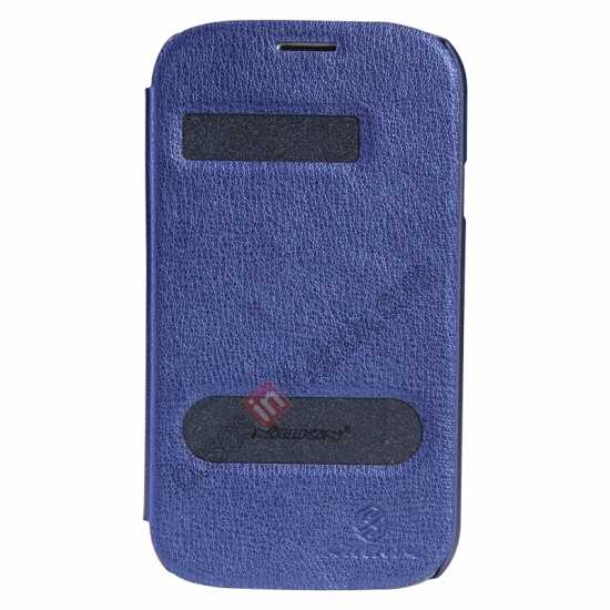 wholesale NILLKIN Easy Series SIde Flip Leather Case for Samsung Galaxy Grand Neo I9060 - Blue