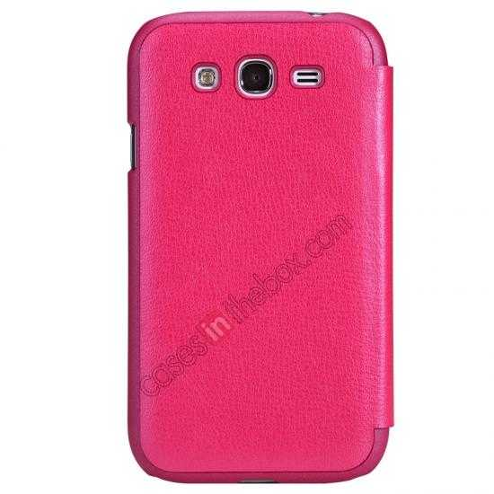 discount NILLKIN Easy Series SIde Flip Leather Case for Samsung Galaxy Grand Neo I9060 - Red