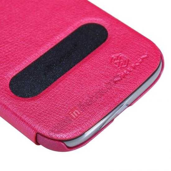 cheap NILLKIN Easy Series SIde Flip Leather Case for Samsung Galaxy Grand Neo I9060 - Red