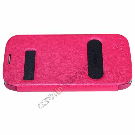 top quality NILLKIN Easy Series SIde Flip Leather Case for Samsung Galaxy Grand Neo I9060 - Red