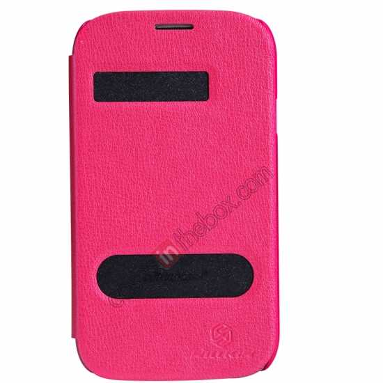 wholesale NILLKIN Easy Series SIde Flip Leather Case for Samsung Galaxy Grand Neo I9060 - Red