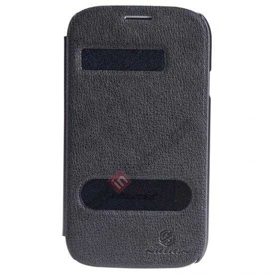 wholesale NILLKIN Easy Series SIde Flip Leather Case for Samsung Galaxy Grand Neo I9060 - Black
