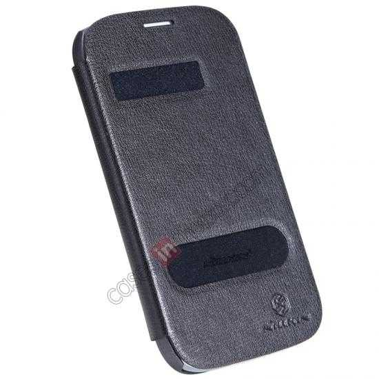 cheap NILLKIN Easy Series SIde Flip Leather Case for Samsung Galaxy Grand Neo I9060 - Black