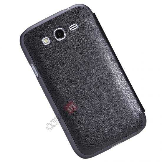 top quality NILLKIN Easy Series SIde Flip Leather Case for Samsung Galaxy Grand Neo I9060 - Black
