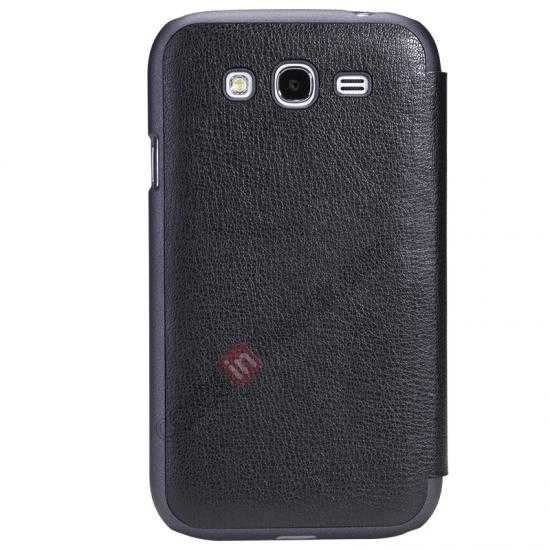 best price NILLKIN Easy Series SIde Flip Leather Case for Samsung Galaxy Grand Neo I9060 - Black