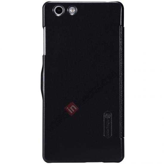 discount Nillkin Fresh Series Leather Case for OPPO R1(R829T) - Black