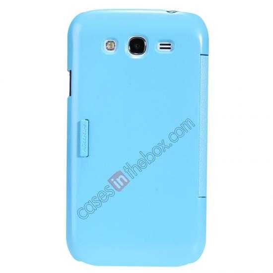 wholesale NILLKIN Fresh Series Leather Case for Samsung Galaxy Grand Neo I9060 - Blue