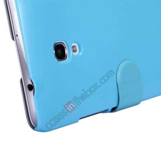 top quality NILLKIN Fresh Series Super Slim Leather Mobile Case for HUAWEI MATE 2 - Blue
