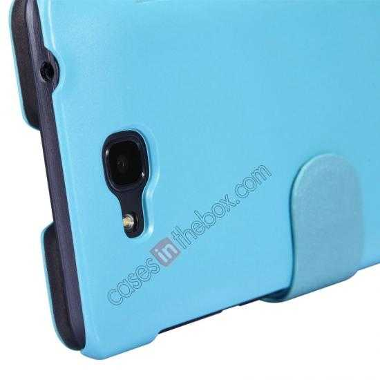 cheap Nillkin Fresh Series View Window Folio Leather Case for HUAWEI C8816 - Blue
