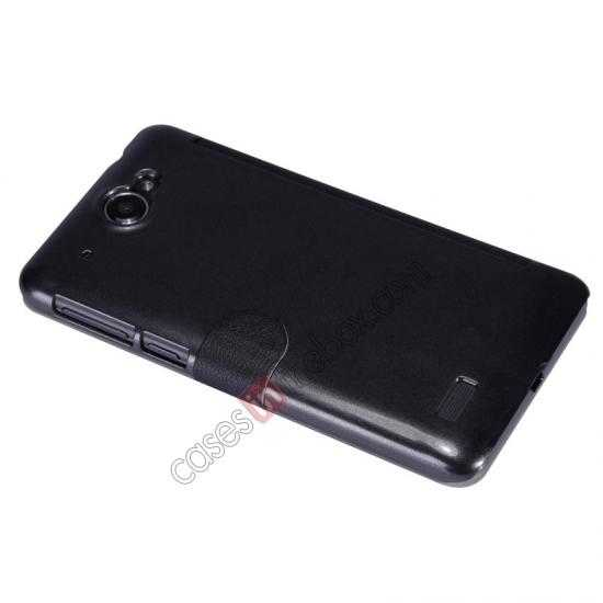discount Nillkin Fresh Series View Window Folio Leather Case for Lenovo S939 - Black