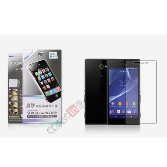 wholesale Nillkin Matte Anti-Glare Scratch-Resistant Screen Protector for Sony Xperia M2 S50H