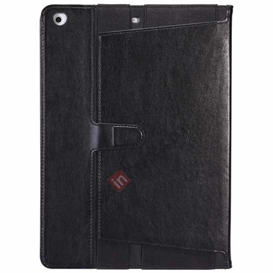 discount NILLKIN Meden Leather Flip Stand Case for iPad Air - Brown