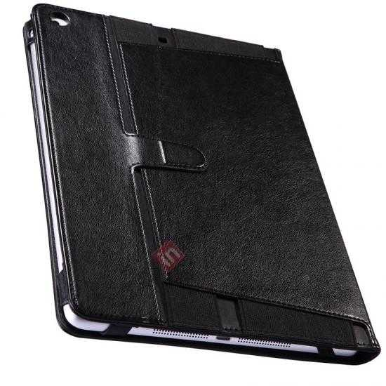 best price NILLKIN Meden Leather Flip Stand Case for iPad Air - Brown