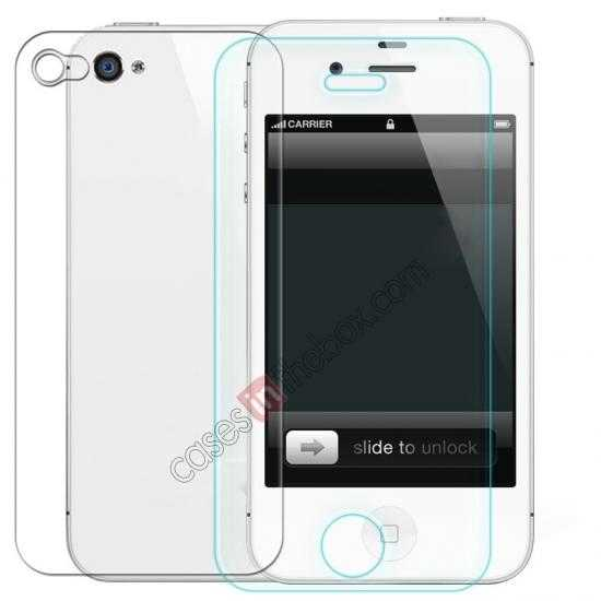 wholesale Nillkin Nanometer Anti-Explosion Tempered Glass Screen Protector for iPhone 4/4S