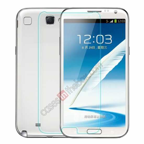 wholesale Nillkin Nanometer Anti-Explosion Tempered Glass Screen Protector for Samsung Galaxy Note 2 N7100