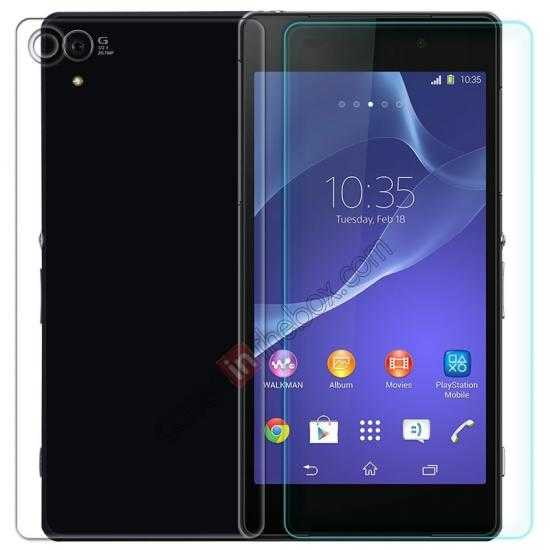 wholesale Nillkin Nanometer Anti-Explosion Tempered Glass Screen Protector for Sony Xperia T2 Ultra XM50h