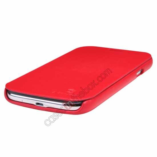 top quality Nillkin New Series Stylish Leather Case for Samsung Galaxy Grand Neo I9060 - Red
