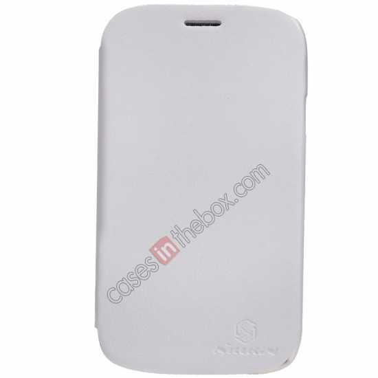 wholesale Nillkin New Series Stylish Leather Case for Samsung Galaxy Grand Neo I9060 - White
